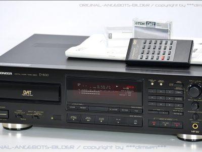 先锋 PIONEER D500 DAT卡座