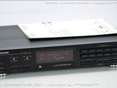 先锋 PIONEER F-550RDS FM/AM 数字调谐收音头