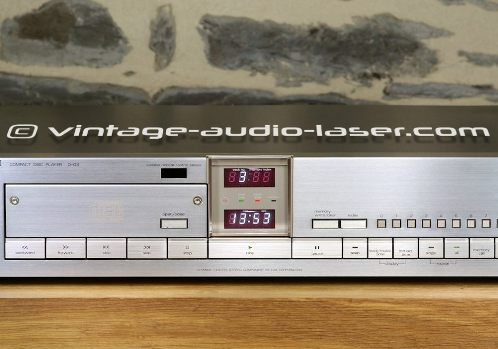 LUXMAN D-03 CD播放机