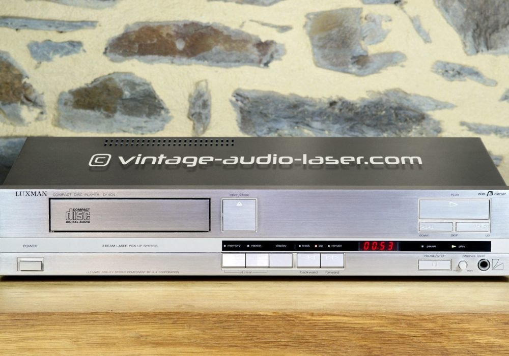 LUXMAN D-404 CD播放机