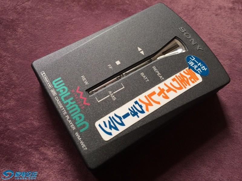 索尼 SONY WM-WE7 磁带随身听