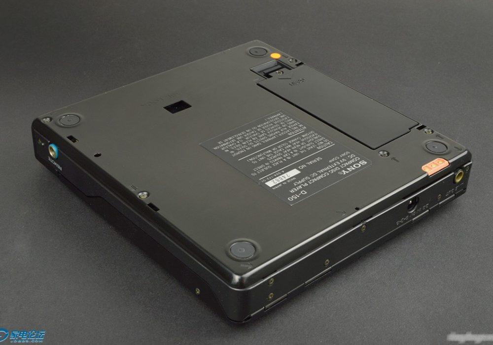 黑色索尼CD机 SONY D-150