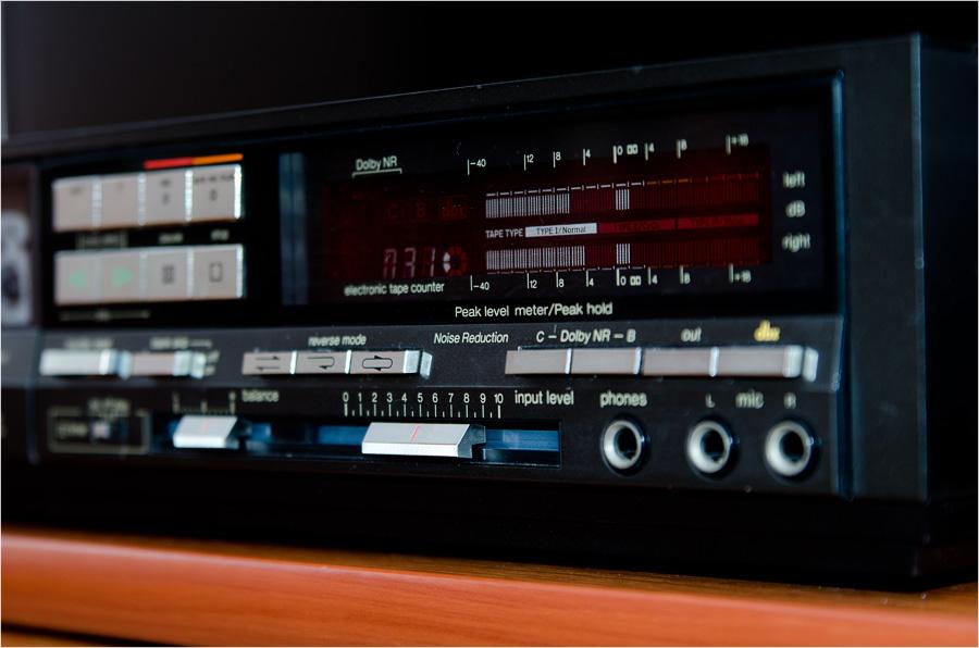 松下 Technics 立体声 磁带卡座 RS-B49R
