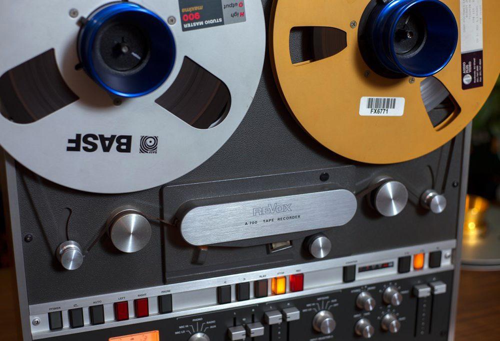REVOX A700 顶级2轨开盘机(带遥控器)嫁出 - 广安经典音响