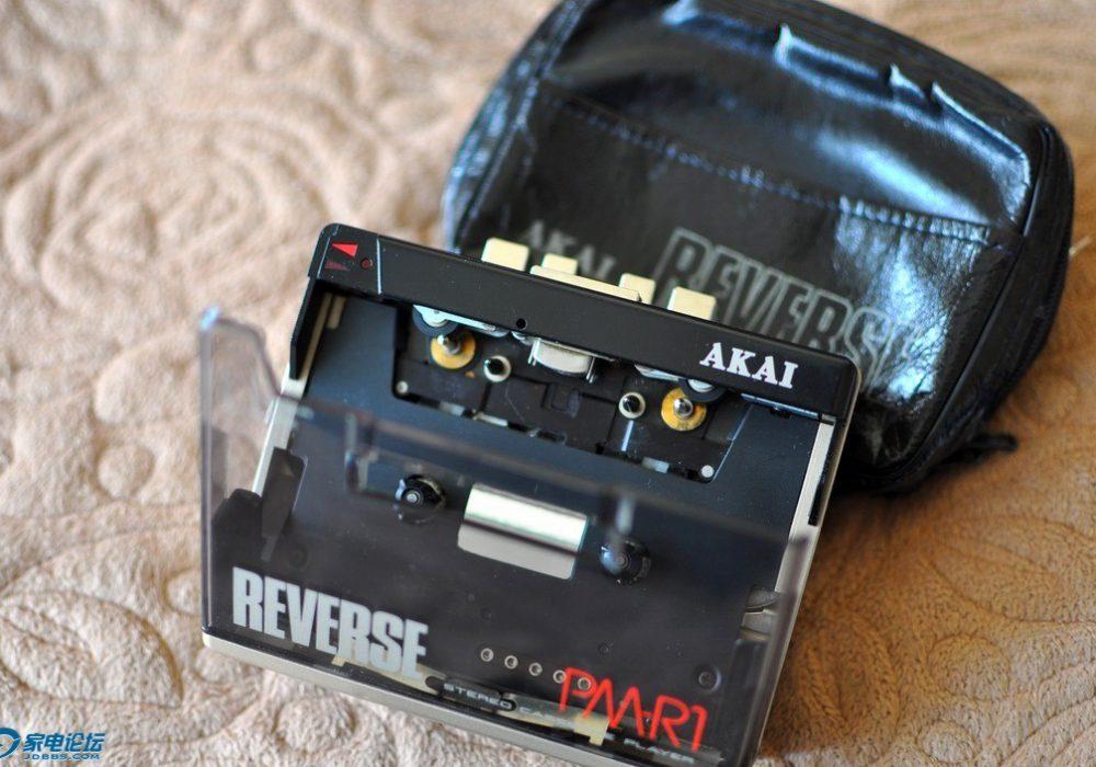 雅佳 AKAI PM-R1 大窗口磁带随身听