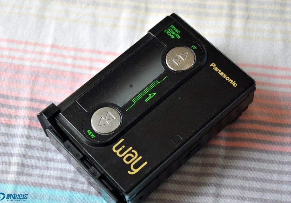 松下 WAY 磁带机 Panasonic RQ-J2