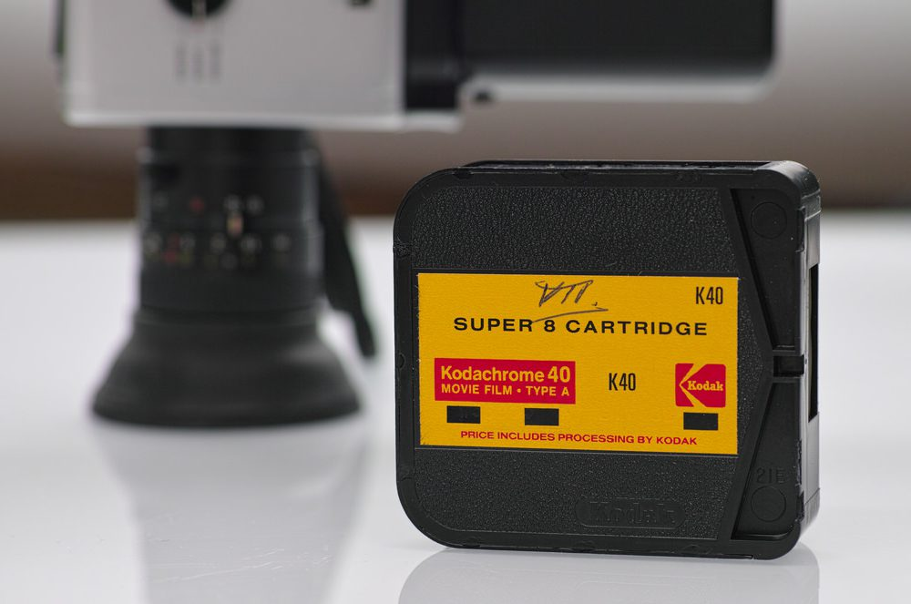 Kodak Kodachrome 40 Super8 Film