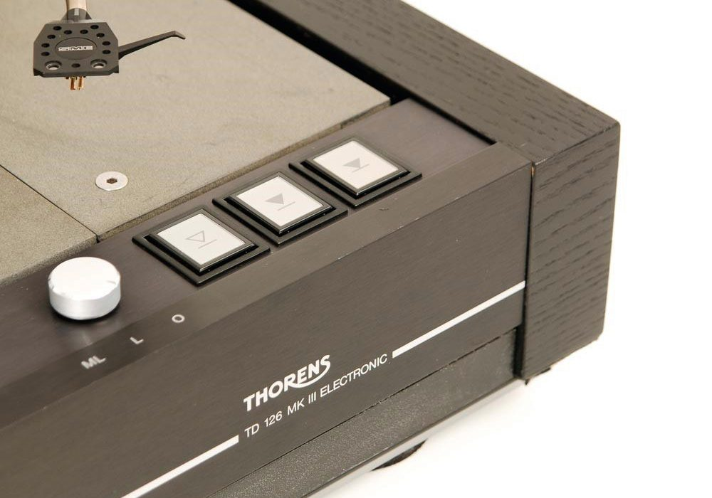 Thorens TD-126 MK III Rolf Kelch modifiziert + SME