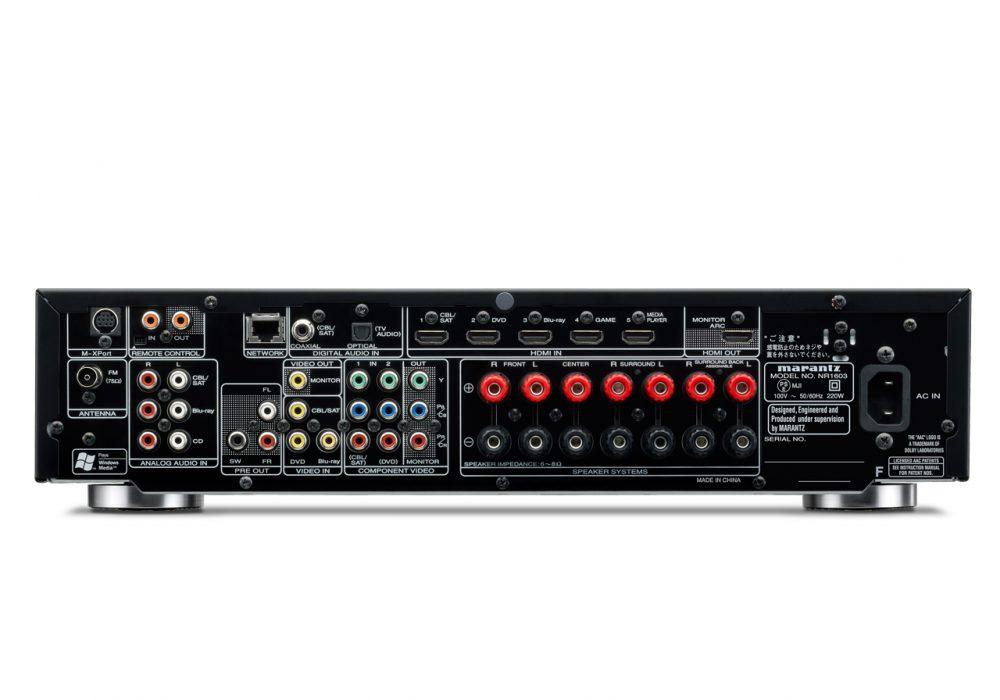 马兰士 Marantz NR1603 次世代AV功率放大器