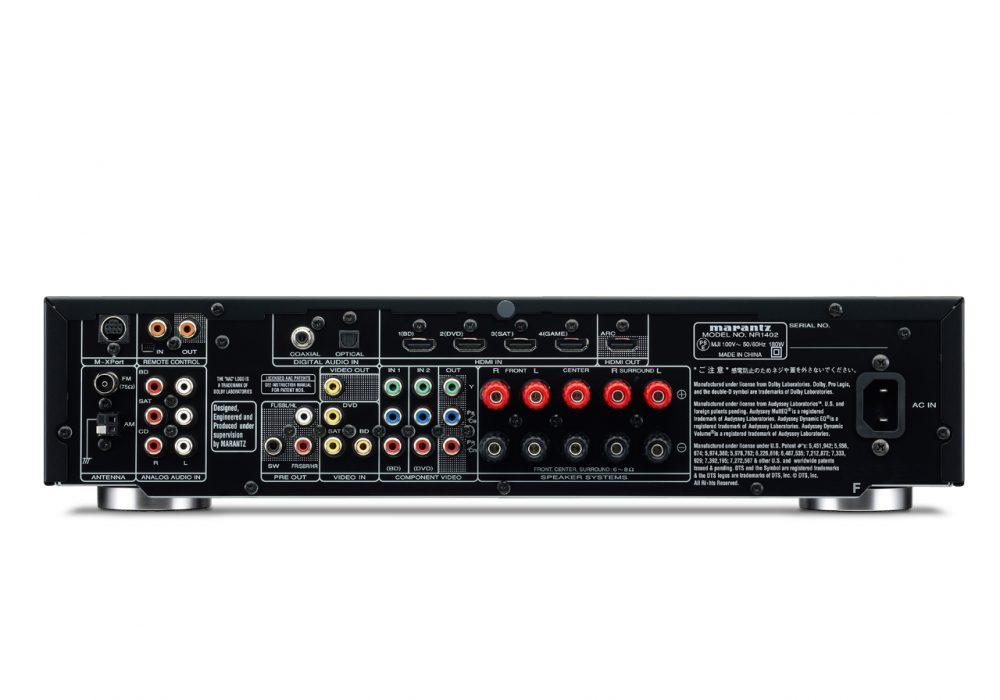马兰士 Marantz NR1402 次世代AV功率放大器