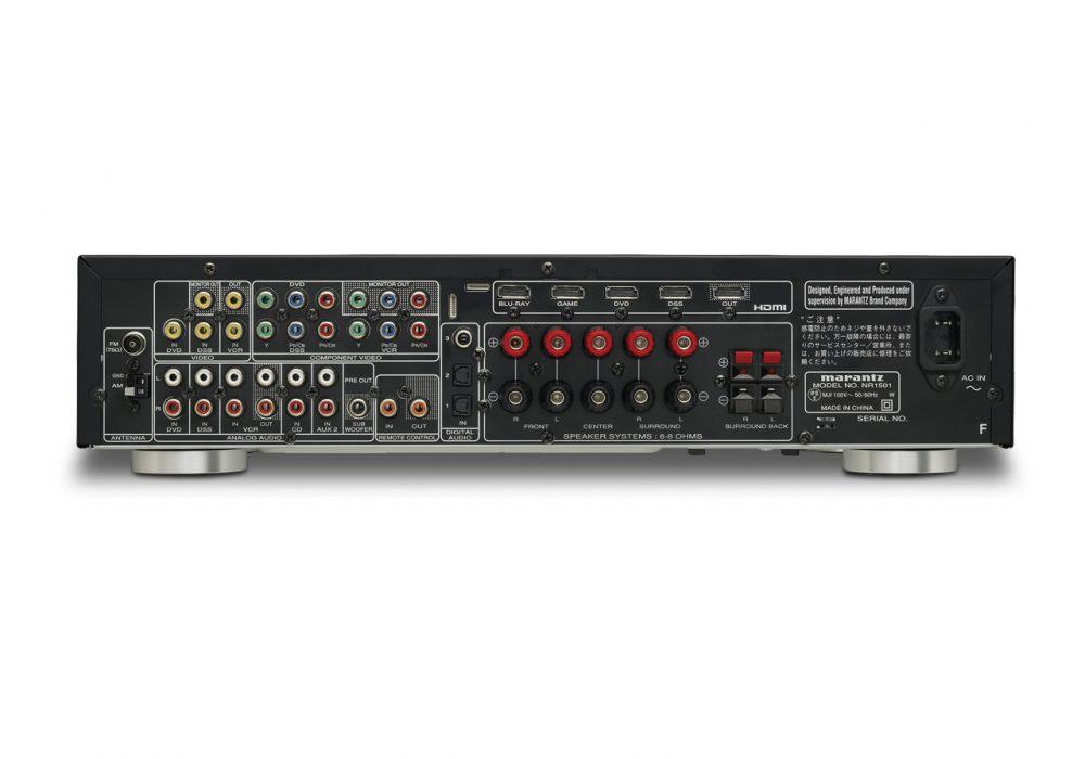 马兰士 Marantz NR1501 次世代AV功率放大器