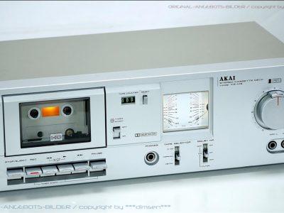 雅佳 AKAI CS-M3 古典双表头卡座