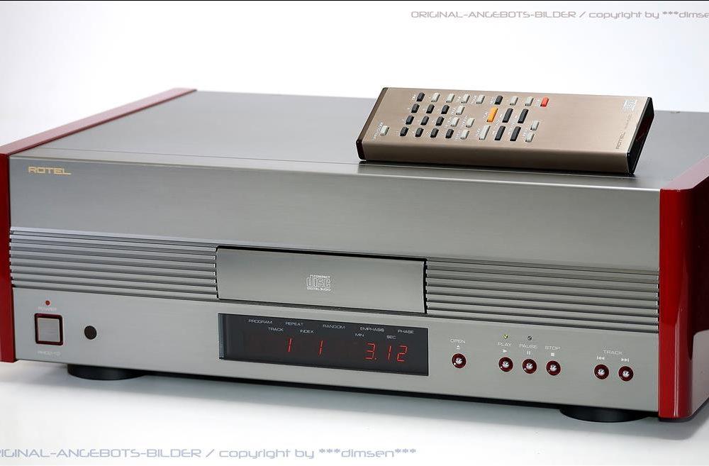 ROTEL RHCD-10 顶级CD播放机