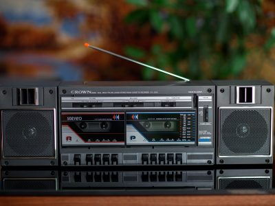CROWN CS-2200 双卡收录机