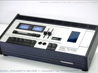 天宝 TANDBERG TCD-310 MKII 双表头老卡座