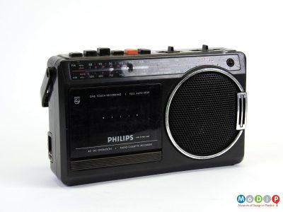 Philips D7180/65R radio cassette recorder
