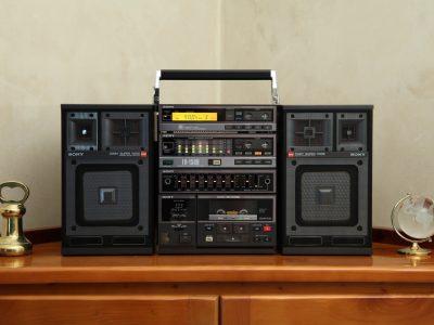 Sony FH-150R Mini Hi-Fi Boombox - 1