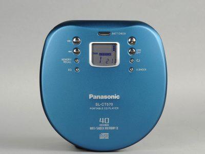 松下 Panasonic SL-CT570 CD随身听