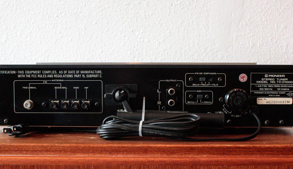 先锋 PIONEER TX-D1000 收音头