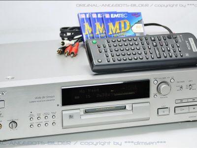 银色索尼 SONY MDS-JB920 MD 播放机