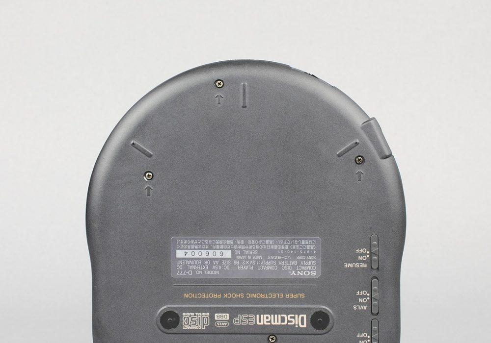 索尼 SONY D-777 Discman CD随身听(DBB)