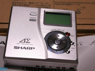 夏普 SHARP MD-DR77 MD随身听