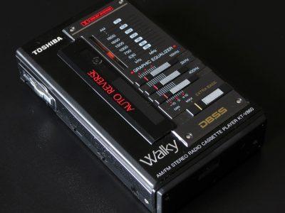 东芝 Toshiba KT-V860 磁带随身听