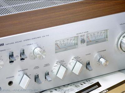 雅马哈 YAMAHA CA-710 双表头功率放大器