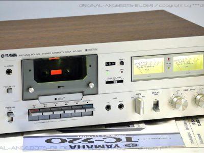 雅马哈 YAMAHA TC-520 双表头古典卡座