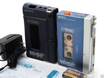 索尼 SONY 随身听 TPS-L2 立体声 磁带播放机 Case, Adapter Guardians of the Galaxy