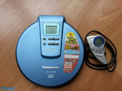 松下 Panasonic SL-CT780 CD随身听