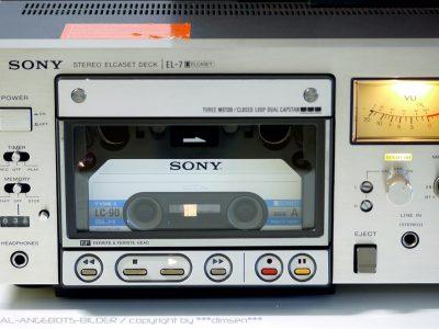 索尼 SONY EL-7 ELCASET 磁带卡座