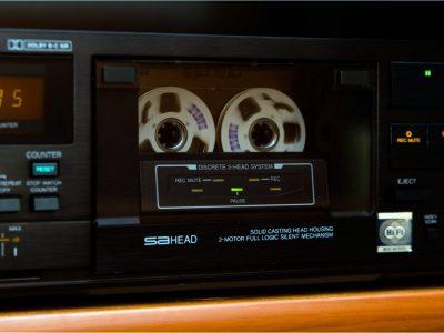 JVC KD-V6 卡座