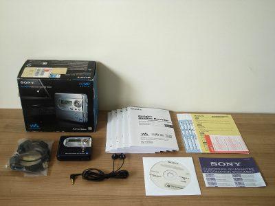 索尼 SONY MZ-NH600 HI-MD 随身听