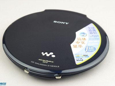 索尼 SONY D-NE20LS CD随身听