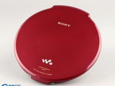 红色索尼CD随身听 SONY D-NE20