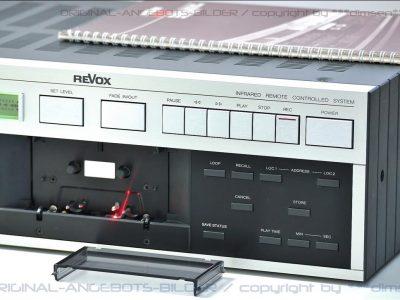 REVOX B215 mkII 专业级磁带卡座