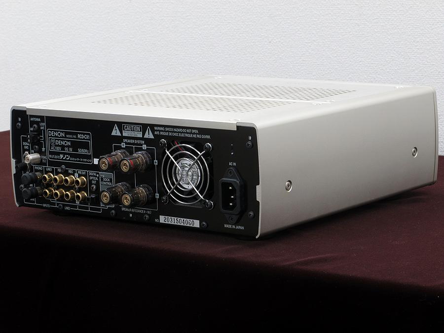天龙 DENON RCD-CX1 CD 音响系统(iPod専用)