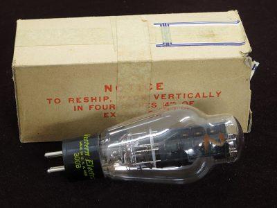 西电 Western Electric 300B 电子管 1988年製