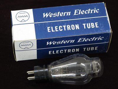 西电 Western Electric 300B 刻印 电子管