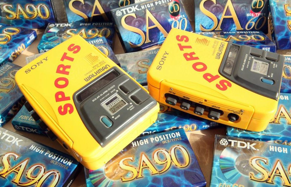The iconic 'Yellow Monster' Walkman of the 1990s was actually released in 1988. Credit: Free Photos and Art/Flickr, CC-by-2.0