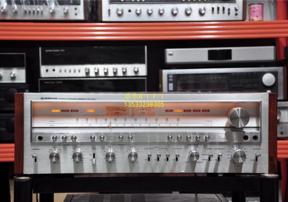 先锋Pioneer SX-1250 双表头空气八连收扩机