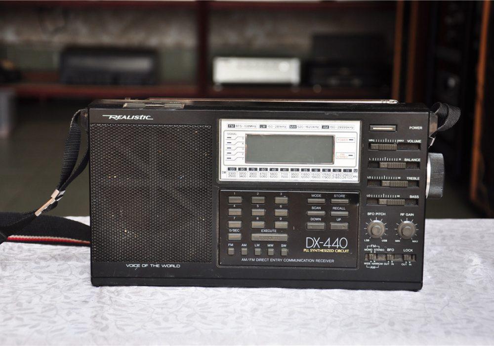 雷神 REALISTIC DX-440 便携收音机