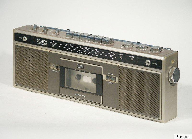 ITT RC 3500 立体声收录机