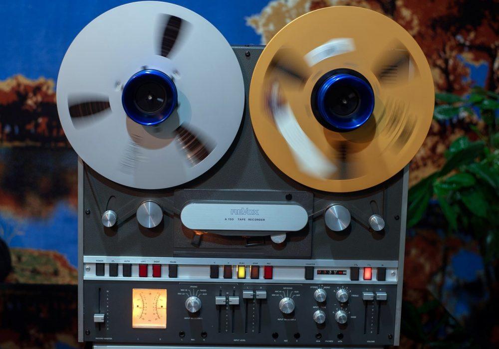 REVOX A700两轨顶级开盘机(2台)全部嫁出 - 广安经典音响