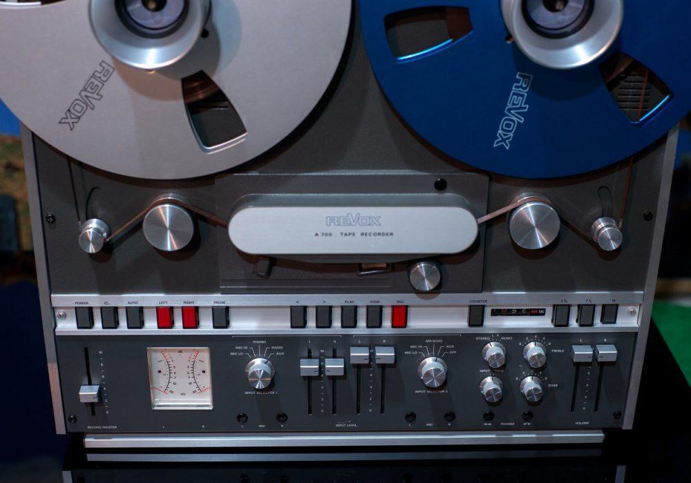 REVOX (瑞华士)A700四轨顶级开盘机到货(朋友暂定) - 广安经典音响