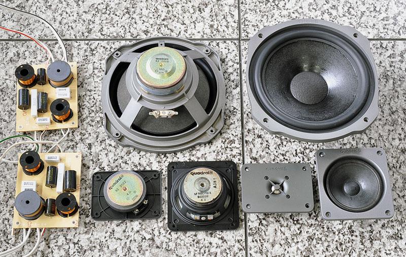 QUADRAL SHOGUN Mk-V 落地音箱