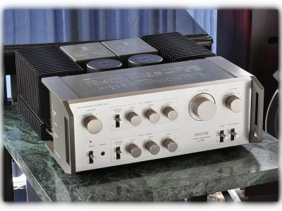 三菱 DIATONE DA-P10 + DA-A10 前后级功率放大器