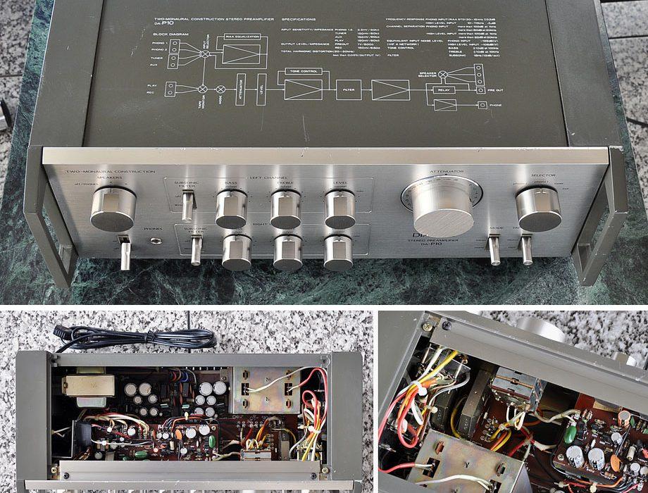 三菱 DIATONE DA-P10 专业前级放大器