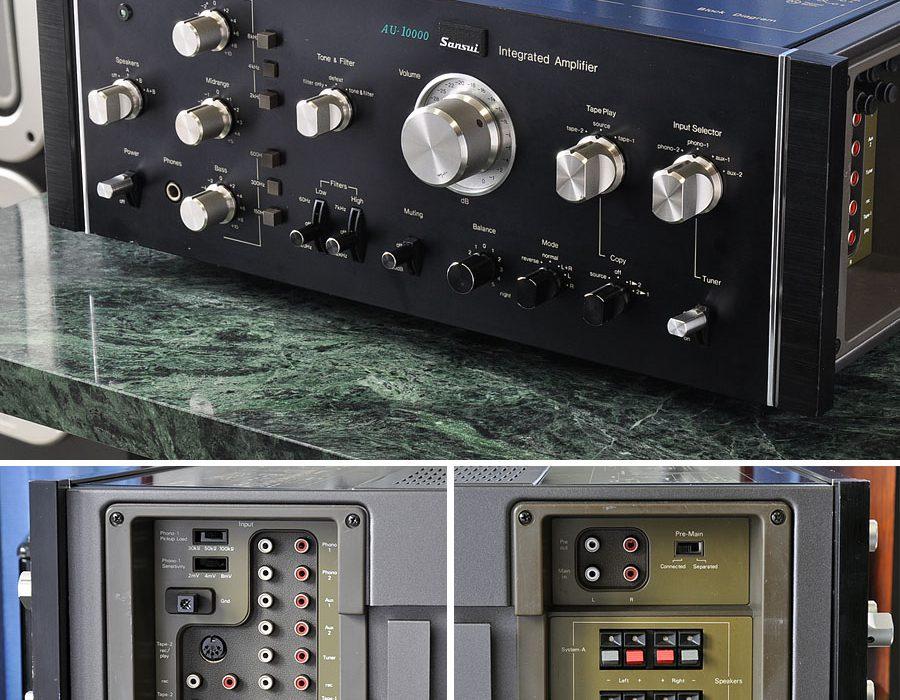 山水 SANSUI AU-10000 合并式功率放大器